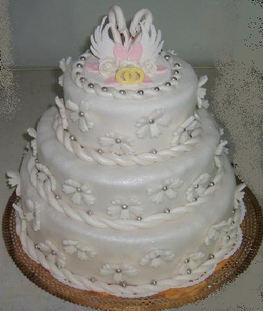 Заказ торта на свадьбу — изготовление