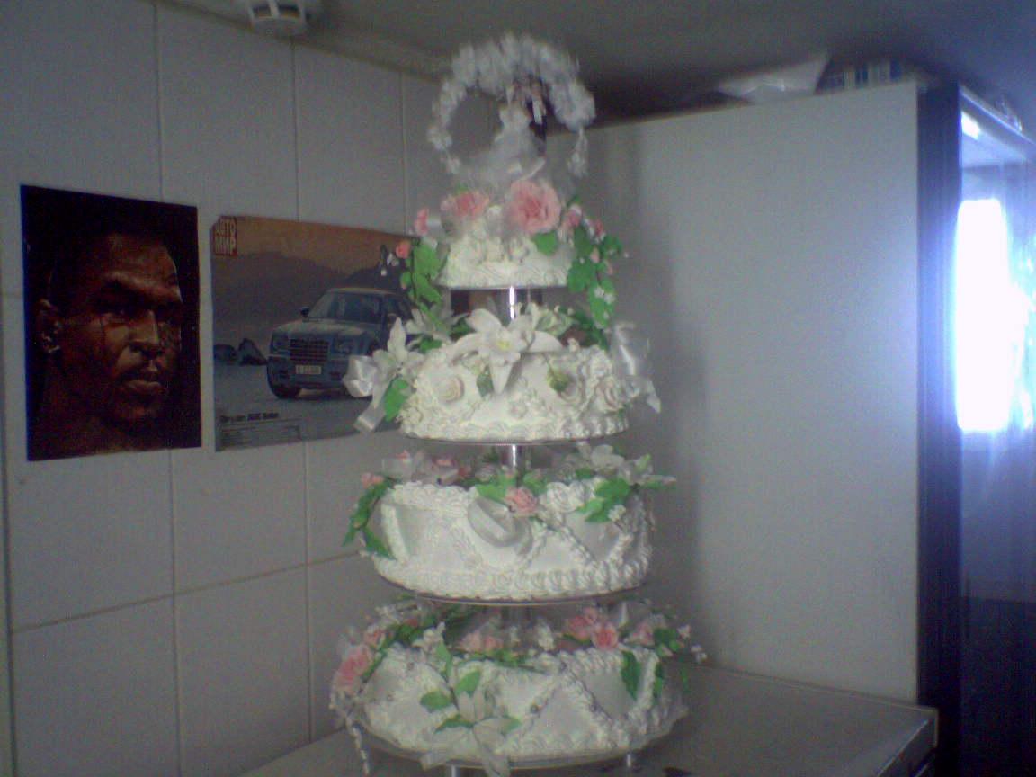 Свадебные торты на заказ на сайте